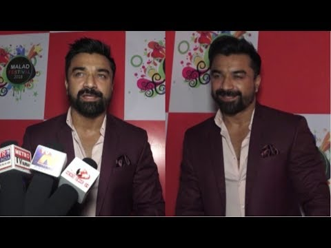 Ajaz Khan At Malad Festival 2018