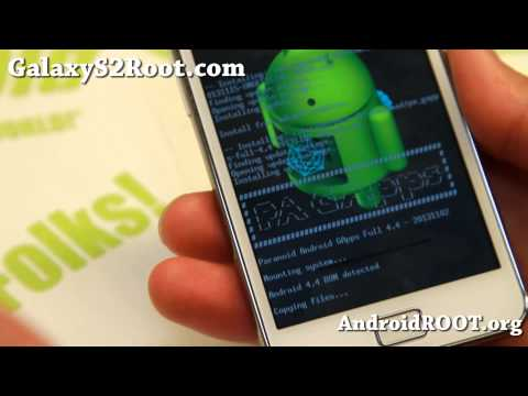 How to Install Android 4.4 KitKat ROM on Galaxy S2!