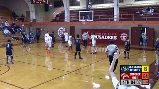 Sophomore Basketball vs. St. Francis de Sales