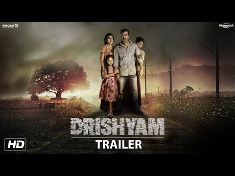 Drishyam Trailer | English Subtitles | Starring Ajay Devgn, Tabu & Shriya Saran