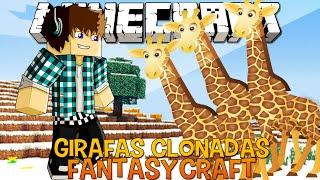 Girafas Clonadas !! #12 FantasyCraft - Minecraft