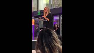 Barbra Streisand at UCLA's 2019 Velocity Women's Conference