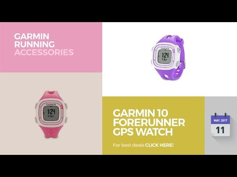 Garmin 10 Forerunner GPS Watch Garmin Running Accessories