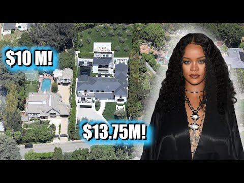 Rihanna Creates Beverly Hills Compound By Purchasing $10M Home Right Next Door