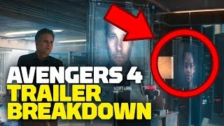 Marvel's Avengers: Endgame Trailer #1 BREAKDOWN, Secrets & Easter Eggs - Rewind Theater