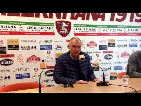 salernitana - reggina, conferenza stampa pre partita di menichini