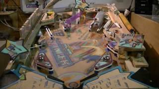 homemade pinball machine