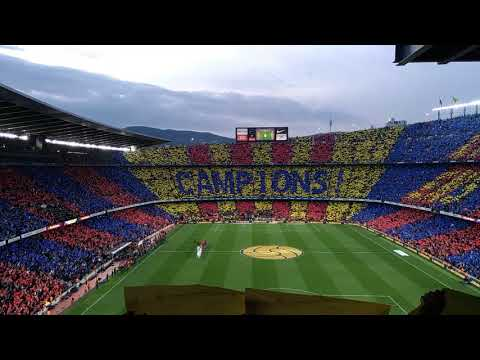 El Clasico Barcelona Vs Real Madrid CAMPION Anthem