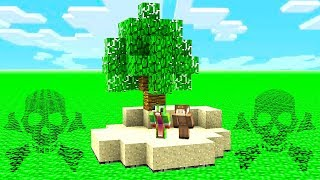 SURVIVING ON NUCLEAR ISLAND IN MINECRAFT!