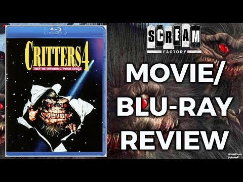 CRITTERS 4 (1992) - Movie/Blu-ray Review (Scream Factory)