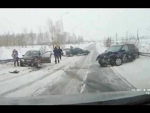 Новая подборка аварий и дтп  от 24.01.2016