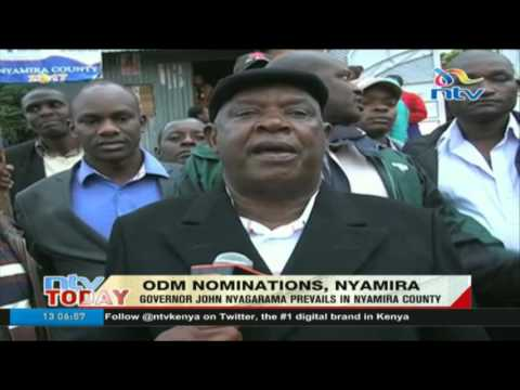 Incumbent Governor John Nyagarama prevails in ODM's Nyamira County primaries