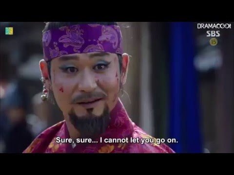 The Greatest Korean Drama Swordfight  Lee Bang Ji Vs  Gil Tae Mi Six Flying Dragons Epi 18