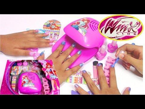 nail art - stile winx