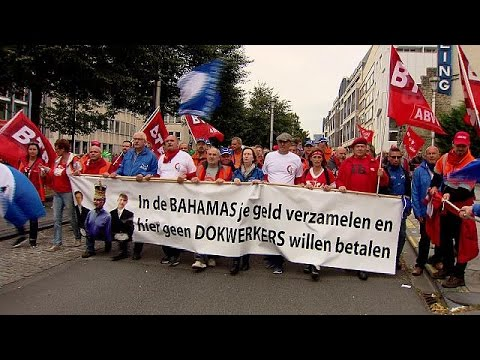 Βρυξέλλες: Μέχρι 70.000 στους δρόμους κατά της εργασιακής μεταρρύθμισης