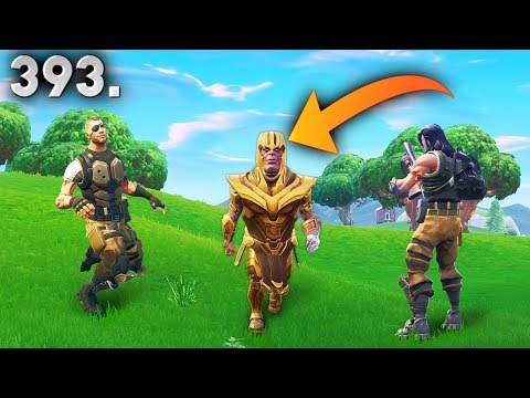 Funny clips - CRAZY THANOS GLITCH..!! Fortnite Daily Best Moments Ep.393 (Fortnite Battle Royale Funny Moments)