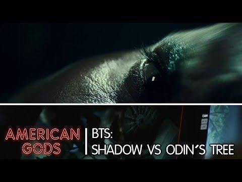 BTS: Shadow vs Odin's tree   American Gods - Season Two
