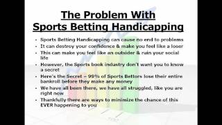 Sports Betting Handicapping - What You Must Know Before You Try It