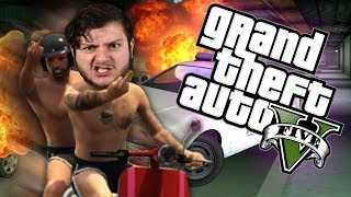 Join SkyDoesMinecraft in GTA 5 -  MOPED GANG!!  (GTA 5 PC Online Funny Moments) with RedVacktor, AlaskAngeles and PrestonDanger. Today is a special day In the GTA world because Sky Does Minecraft and the gang decide it's time to start a moped gang. Yeah, you heard me moped gang and to make it even better it's a pink moped gang! So next thing you know you have three guys on mopeds mobbin around town at turtle speed. If this video made you giggle slap that like button and comment down below so we know to make more like it. Also, don't forget to subscribe and click the notification bell, so you never miss a funny moment again. Thank you for watching SkyVsGaming  GTA 5 -  MOPED GANG!!  (GTA 5 PC Online Funny Moments) see you later!Merch - http://www.teespring.com/stores/skyarmyFriends:Red - http://www.youtube.com/redvacktorPreston - http://www.twitter.com/prestondanger_Evan - http://www.twitter.com/alaskangeles