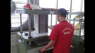 Book press machine youtube video
