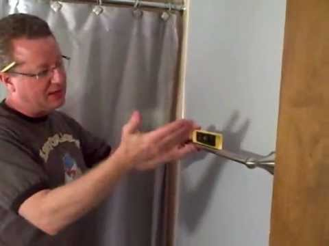 INSTALLING A TOWEL BAR