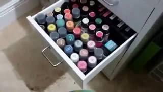 Part 2 of my craft room tour  - Captured Live on Ustream at http://www.ustream.tv/channel/scrappycampersisters