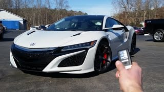 Video 2017 Acura NSX: Start Up, Exhaust, Walkaround and Review MP3, 3GP, MP4, WEBM, AVI, FLV Februari 2018