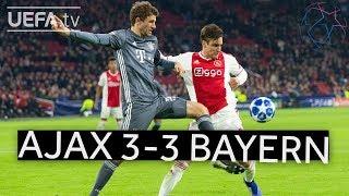 Download Video AJAX 3-3 BAYERN #UCL HIGHLIGHTS MP3 3GP MP4