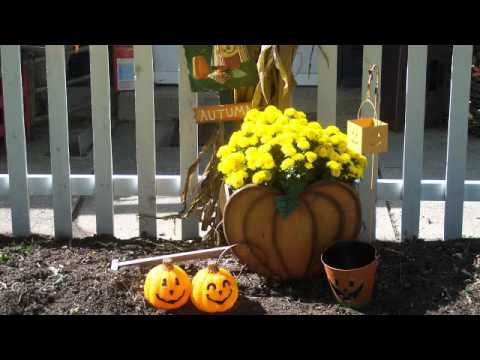 Fall Country Decorating Ideas  - Fall Decor Outside