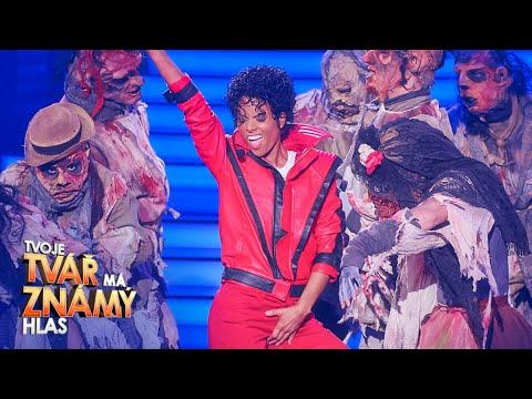 Hana Holišová jako Michael Jackson –