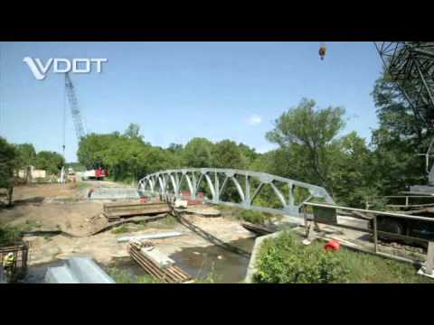 Time lapse photography of the construction of