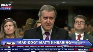 "FULL VIDEO: Confirmation Hearing of James ""Mad Dog"" Mattis, Trump's Secretary of Defense Pick - FNN"