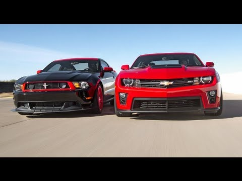 Chevrolet Camaro ZL1 vs Ford Mustang Boss 302 Laguna Seca! – Head 2 Head Episode 3