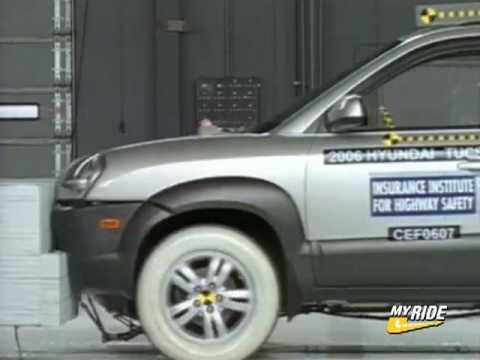 Hyundai Tucson Hyundai Tucson Crash Test 2006