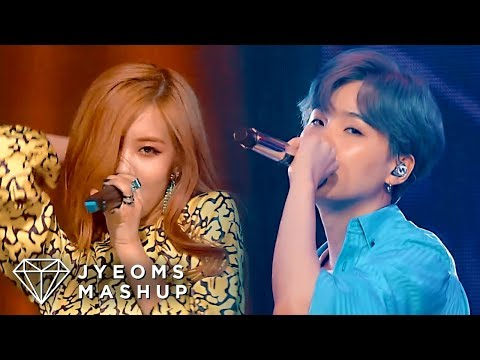 BTS & BLACKPINK - MAKE IT RIGHT X WHISTLE (MASHUP)