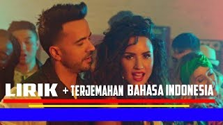 Luis Fonsi, Demi Lovato - Échame La Culpa (LIRIK + TERJEMAHAN BAHASA INDONESIA)