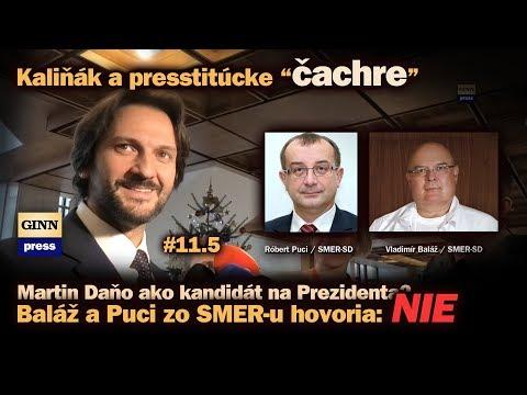 Baláž a Puci zo SMER hovoria Daňovi NIE! Kaliňák o Lučanskom a presstitúcke čachre #11.5