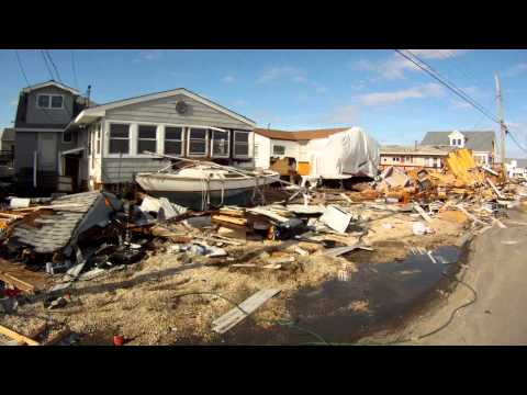 Tuckerton aftermath - Hurricane Sandy