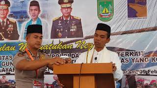 Video Ustadz Abdul Somad Lc MA di Polda KEPRI, Batam 09 Februari 2018 MP3, 3GP, MP4, WEBM, AVI, FLV Februari 2018