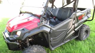10. 2016 Honda Pioneer 1000 5, low miles, automatic transmission, low range