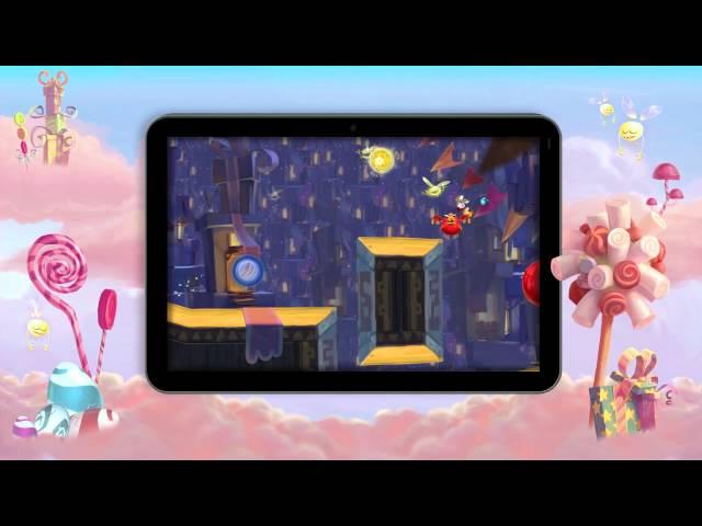 Rayman Fiesta Run -- Candy Trailer