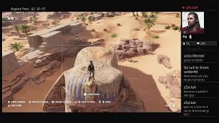 Assassin's Creed Origins Chill Stream