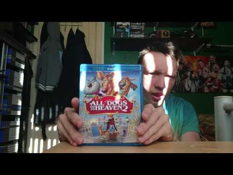 Unboxing Of All Dogs Go To Heaven 2 On Bluray