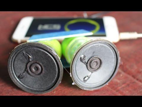 Come fare un altoparlante smartphone