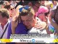 foto Australia says yes to same-sex marriage Borwap
