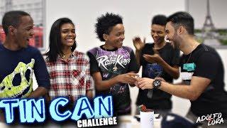 Tin Can Challenge | Reto de las Latas Con Suscriptores | Adolfo Lora