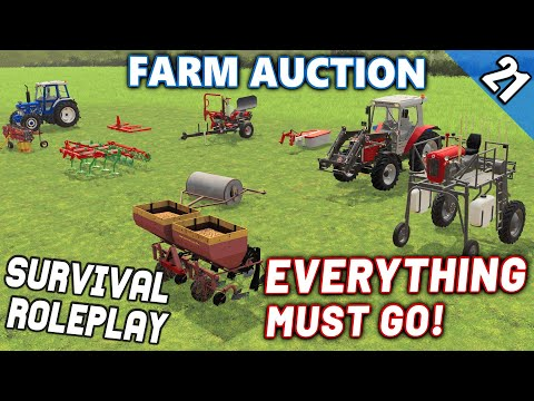 THIS IS THE END. FARM AUCTION? - Survival Roleplay S3 | Episode 21