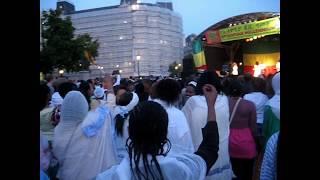 Kefale Alemu On The Ethiopian Millennium Celebration At Trafalgar Square 2007