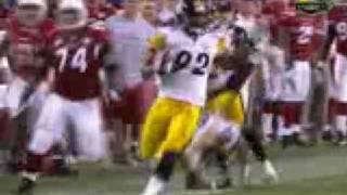 Super Bowl XLII: James Harrison 100 yards Touchdown