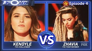 Video Zhavia vs Kendyle Paige  - SHOCKING Results  &Comments The Four S01E04 Ep 4 MP3, 3GP, MP4, WEBM, AVI, FLV Agustus 2019